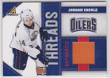 2010 10-11 Pinnacle Threads #JE Jordan Eberle 96/499