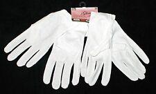 2 pr Daiso Japan white cotton night care moisturizing driving walking gloves M L