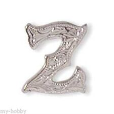 """Letter Z Alphabet Concho - 3/4"""" - Screwback - Tandy Leather #1339-26"""