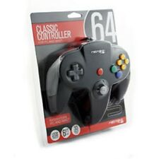 NEW RetroLink Nintendo 64 BLACK USB Controller Pad to PC or  MAC Computer