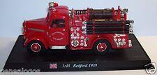 DEL PRADO CAMION POMPIERS BEDFORD 1939 TRUCK FIRE BRIGADE LIVERPOOL 1/43