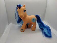My Little Pony G3 Wishawhirl Easter Spring Basket Orange & Blue Pinwheels