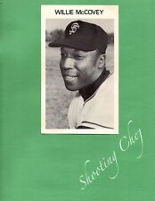 """Vintage 4.25""""x7"""" Photo of Willie McCovey San Francisco Giants Great Condition"""