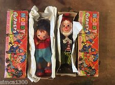 Linda fairylite Noddy & Big Ears Enid Blyton PUppets PAIR 1960s Boxed