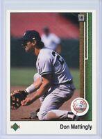 1989 Upper Deck #200 DON MATTINGLY (Yankees)