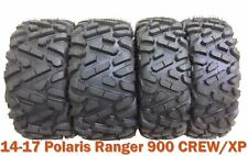 Set 4 Radial ATV Tires 26x9R12 & 26x11R12 for 14-17 Polaris Ranger 900 CREW/XP