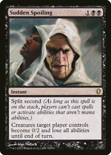Sudden Spoiling Commander 2013 NM Black Rare MAGIC THE GATHERING CARD ABUGames