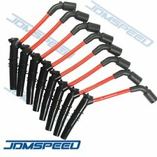 10.5MM HUGE SPARK PLUG WIRES SET CHEVY GM PONTIAC CHEVROLET LS1 LS2 LS3 ENGINE