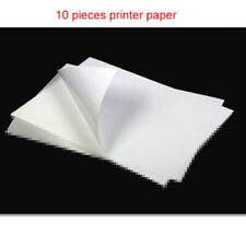 10X A4 Sticker Paper Waterproof Adhesive Label Glossy Laser Printer Paper