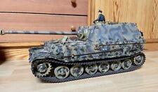1/16 RC Panzer Hooben Elefant RRZ Schussblitz Heng-Long V6.1S gealtert UNIKAT!
