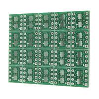 20Pcs SOP8 SO8 SOIC8 TSSOP8 MSOP8 to DIP8 Adapter PCB Circuit Board Converter
