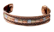 New Armband Pure Copper Magnetic Cuff Bracelet Arthritis Pain Relief Healing