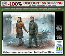 """Master Box 35182 """"Volkssturm. Ammunition to the Frontline"""" Scale 1/35"""