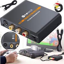 HDMI zu RCA AV CVBS Composite und S-Video 1080p Audio Konverter Adapter Kabel