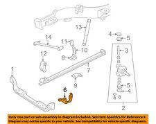 GM OEM Front Suspension-Steering Arm Left 15972557