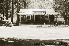 Pine Grove Camp, Amador County, California - 1931 - Historic Photo Print