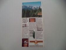 advertising Pubblicità 1976 CARAVAN TABBERT