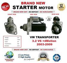 FOR VW TRANSPORTER 3.2 V6 +4Motion 2003-2009 NEW STARTER MOTOR 2.0 kW 10Teeth