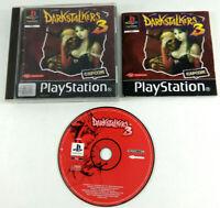 Jeu Playstation 1 PS1 VF  Darkstalkers 3  avec notice  Envoi rapide et suivi