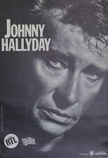 """""""JOHNNY HALLYDAY / Spectacles CAMUS-COULLIER"""" Affiche originale entoilée"""