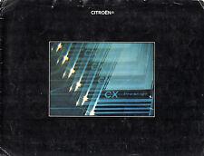 Citroen cx prestige 2400 1976 uk market sales brochure