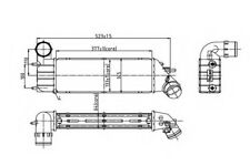 Genuine Peugeot 807 Citroen C8 Fiat Ulysse Phedra 2.0 2.2 intercooler Chargeur