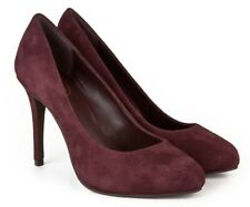 Ash Caprice Prune Purple Kid Suede Court Shoes UK Size 7 EU 40 Stiletto