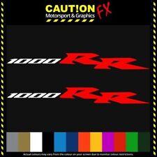 2x Honda Cbr 1000rr Fireblade Sticker Decal Motocicleta Vinilo De Corte