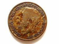 1920 British One (1) Penny Coin