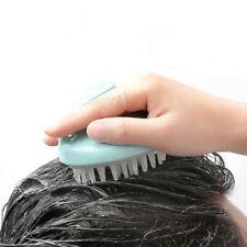 Body Silicone Shampoo Scalp Shower Washing Hair Massage Massager Brush Comb