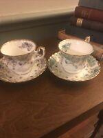 Royal Albert Sheraton Series Lavinia & Veronica Bone China Cup & Saucer