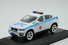 BMW X6 Police Milicya Russian 1/43