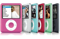 Apple iPod Nano 3rd Generation 4GB or 8GB (Choose Your GB Size and Color)