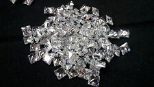 Square Princess Cut 5 x 5 mm White Cubic Zirconia Loose Gemstone AAAAA 10 stones