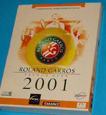 Roland Garros 2001 - PC Big Box