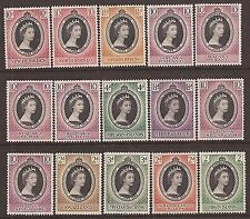 Elizabeth II Era (1952-Now) Colonial Stamp Collections