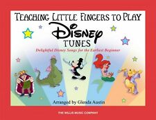 Teaching Little Fingers to Play Disney Tunes Early Elementary Level Bo 000416748