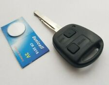 Genuine Toyota Avensis Yaris Corolla Etc 736716-A  2 Button Remote Key Fob #26