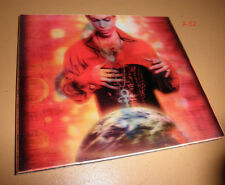 PRINCE cd PLANET EARTH 3D lenticular cover SHEILA E wendy lisa bria valente NPG