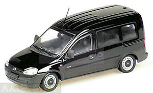 Opel Combo C Tour 2001-03 Black 1:43 Minichamps