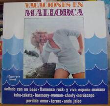 VACACIONES EN MALLORCA SEXY COVER SPAIN  PRESS LP OLYMPO 1973
