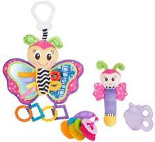 Spiel- und Beißring-Geschenkset Schmetterling (4tlg.), Babyspielzeug