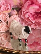 More details for tom mackie spaghetti ram sheep figurine sculpture signed vintage beautiful