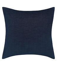 Ellen Degeneres ED New $60 EURO Sham European Pillow Case Pillow Cover Navy Blue