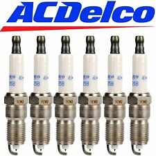 CADILLAC CTS SATURN SPARK PLUGS ACDelco 41-808 Spark Plugs Platinum Set of 6