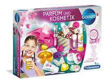 Clementoni 59032 Galileo Parfüm und Kosmetik Experimentierkasten Schönheitslabor