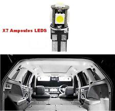 Pack Ampoules x7 LED Pour Peugeot 2008 3008 307 308 408 LED éclairage intérieur