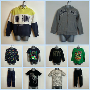 Boys' Clothes Bundle Tops & Trousers 4-5 Years - Choose Item