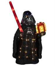 "Kurt Adler  Star Wars ""Darth Vader"" Holiday Lighted Decor - 28""/50 lights"