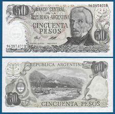 ARGENTINIEN / ARGENTINA 50 Pesos (1976-78) UNC P.301 b